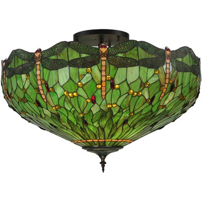 Greenbriar 5-Light Semi Flush Mount