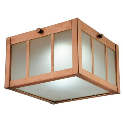 Greenbriar Oak Beck Flush Mount