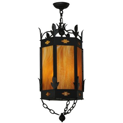 Greenbriar Oak 3-Light Mini Pendant