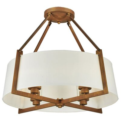 Greenbriar 4-Light Semi-Flush Mount
