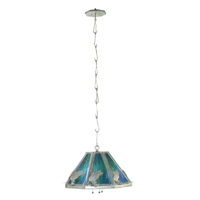 Leaping Bass 3-Light Mini Pendant