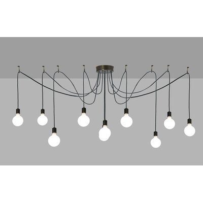 Greenbriar Oak Castiliolite 10-Light Pendant