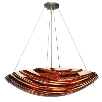 Metro Fusion Marina 4-Light Inverted Pendant