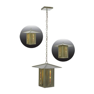 Moss Creek Stepping Stone 1-Light Lantern Pendant