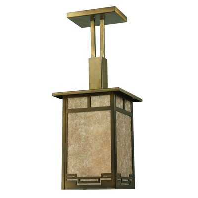 Roylance 1-Light Foyer/Lantern Pendant