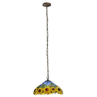 Wild Sunflower 2-Light Pendant