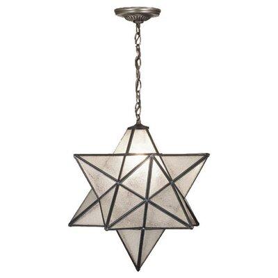 1-Light Star Pendant Shade Color: Seedy