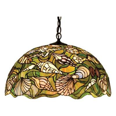 Tiffany Nautical 3-Light Bowl Pendant