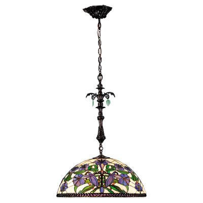 Victorian 3-Light Bowl Pendant