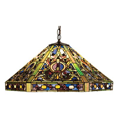 Tiffany 3-Light Elizabethan Pendant