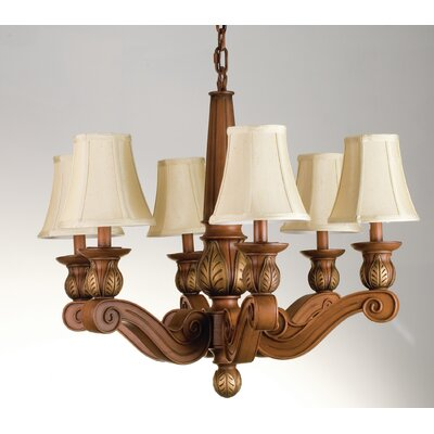 Kendall 6-Light Shaded Chandelier