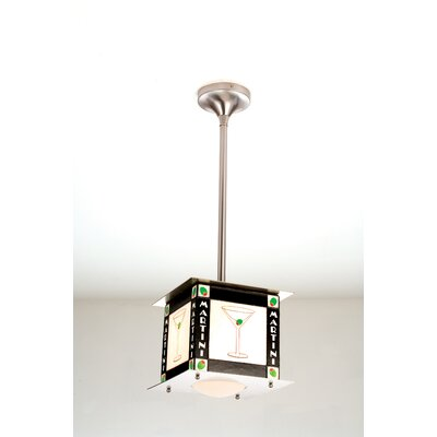 Recreation Martini 1-Light Pendant