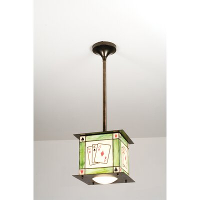 Recreation Texas HoldEm 1-Light Mini Pendant