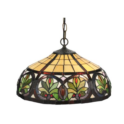 Tiffany Nouveau 2-Light Inverted Pendant