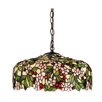Tiffany 3-Light Bowl Pendant