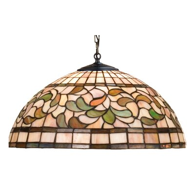 Tiffany Nouveau 3-Light Bowl Pendant