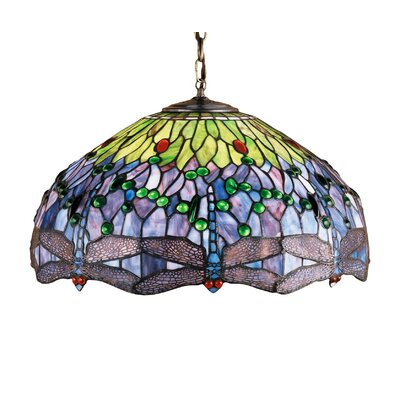 Tiffany Nouveau 3-Light Pendant