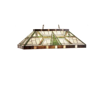 Dana House Oblong 6-Light Pool Table Light