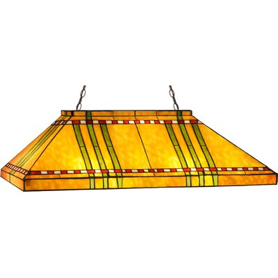 Prairie Corn Oblong 6-Light Pool Table Light
