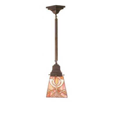 Glasgow Bungalow 1-Light Mini Pendant
