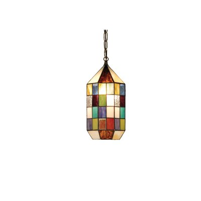 Meyer Panel Lantern 1-Light Mini Pendant