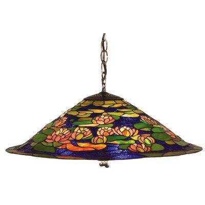 Tiffany Pond Lily 3-Light Pendant
