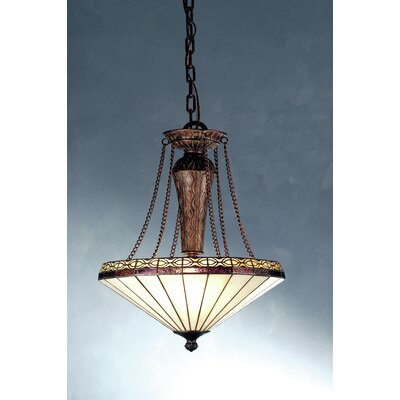 Mission Crestwood 3-Light Inverted Pendant