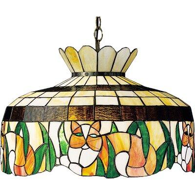 Tiffany 1-Light Bowl Pendant