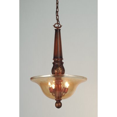 4-Light Kendall Inverted Pendant