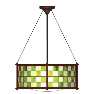 Utopia 3-Light Drum Pendant Finish: Mahogany Bronze