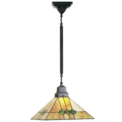 Mission 1-Light Pendant Size: 30 H x 13 W x 13 D