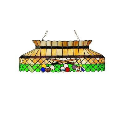 Tiffany 6-Light Billiard Light