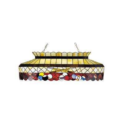 Tiffany 6-Light Billiard Light