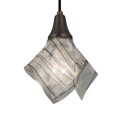 Metro Fusion Branches Handkerchief 1-Light Mini Pendant