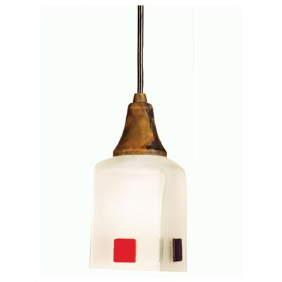 Metro Fusion Psychedelic Baby Draped 1-Light Mini Pendant