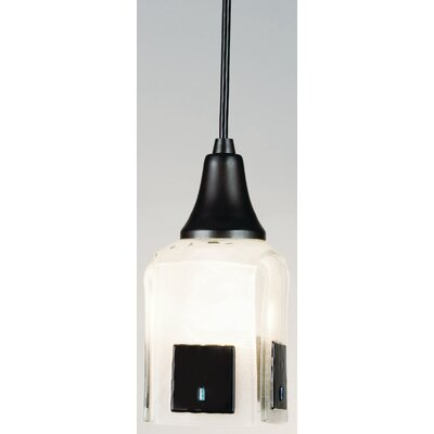 Metro Fusion Casual Affair Draped 1-Light Mini Pendant