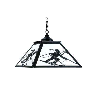 Alpine 2-Light Geometric Pendant