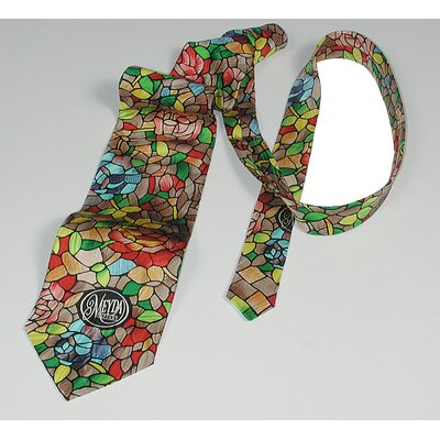 Rosebush Patterned Tie