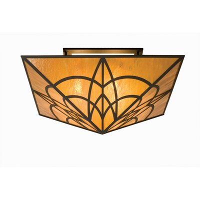 Scottsdale Mission 4-Light Semi-Flush Mount
