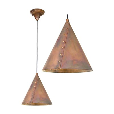 Cone Rivet 1-Light Mini Pendant