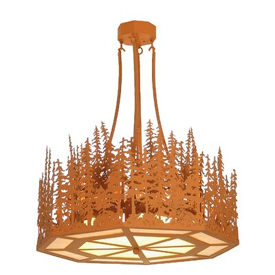 Pine Lake 4-Light Inverted Pendant