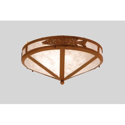 Pike 2-Light Flush Mount