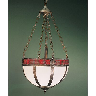 Gothic Basket 4-Light Inverted Pendant