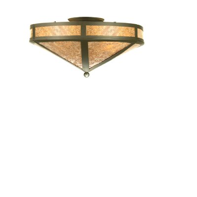 Craftsman Prime 2-Light Flush Mount