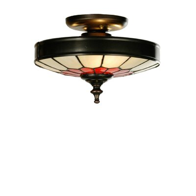 Vincent Honeycomb 3-Light Flush Mount Size: 5.75 H x 10 W x 10 D