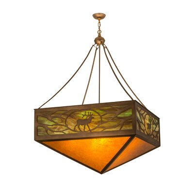 6-Light Inverted Pendant