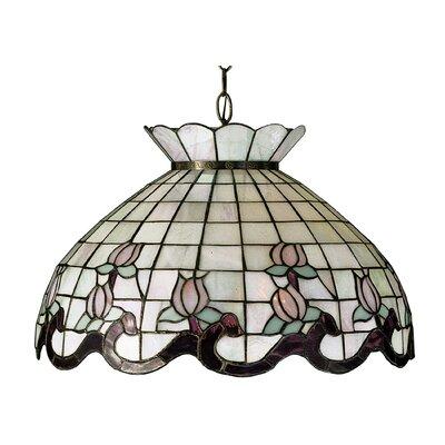 Victorian 1-Light Bowl Pendant
