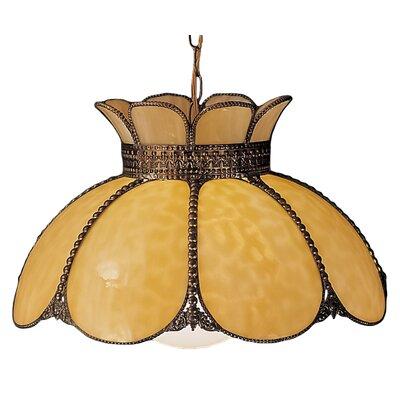 Anabelle 1-Light Bowl Pendant
