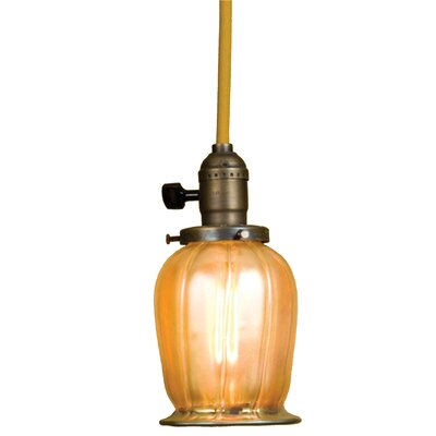 Revival Chelsea Favrile 1-Light Mini Pendant
