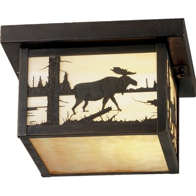 Hyde Park Moose Creek 1-Light Flush Mount